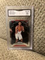 Rui Hachimura Rookie 2019 Prizm Graded 10 Washington Wizards