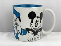 Disney Character Mug ~ Blue Mickey Donald Minnie Goofy