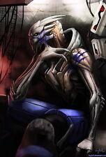 "110 Mass Effect Garrus Archangel Game 14""x21"" Poster"