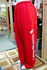 DETROIT RED WINGS lrg athletic sweatpants hockey NHL wing wheel logo