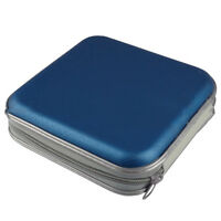 New 40 Disc CD DVD Storage Zipper Bag Case Hard Box Wallet Album Holder  LJ