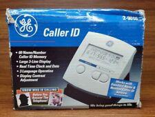 GE Home Phone Land Line Caller ID Display Box 60 Name Number Memory 2-9016