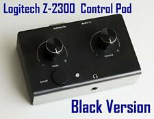 Control Pod Black Replacement For Logitech z-2300 Computer Speaker Wired Remote