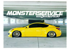 "Rear wings ""Monstersevice""  +40 mm fo Hyundai Genesis Coupe"