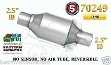 "70249 Eastern Universal Catalytic Converter Standard 2.5"" 2 1/2"" Pipe 8"" Body"