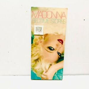 Madonna bedtime stories longbox secret bow human promo lot madame rise 12 7 new