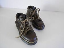 Women's Dr. Martens Heavy Oxfords Lace Ups Brown Leather Size 5 Work/Hiking 9365