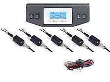Digital Air Ride Gauge 150psi Display Air Suspension System 5 Readouts full FBSS