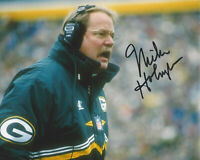 MIKE HOLMGREN - GREEN BAY PACKERS COACH - SIGNED AUTHENTIC 8x10 PHOTO B COA NFL
