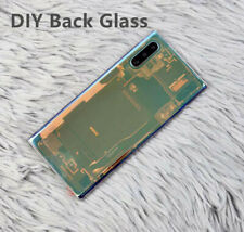 Samsung Galaxy Note 10+ Plus  5G  Back Cover Glass Replacement Transparent Glow