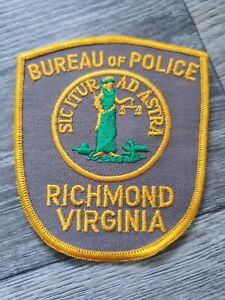 US Bureau of Police Richmond Virginia Badge