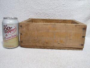 vintage wood box Joseph Blackburn Product  Corp St. Louis lot B