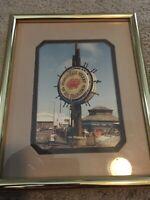 "Vintage Original Photograph Of San Francisco Fishermans Wharf 5""x 7"" With Frame"