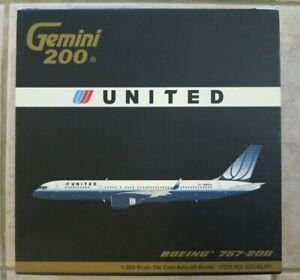 Gemini Jets United Airlines Boeing 757-200 1/200 Model - N532UA - G2UAL051