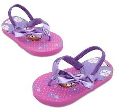 Sofia the First Flip Flops for Girls Disney Store Shoes Pink Princess Purple 7/8