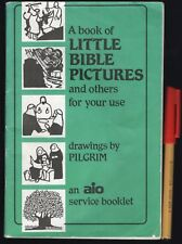 Rare find! LITTLE BIBLE PICTURES & Others for Your Use PILGRIM Logos Newsletters