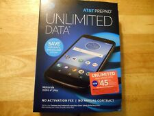 "AT&T Prepaid Motorola Moto E5 Play * Brand New * 16 GB 5.2"" Display * Oreo 8.0"
