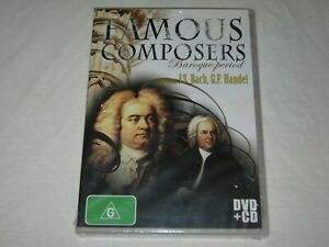 Famous Composers - Baroque Period - Brand New & Sealed - Region 0 - DVD + CD