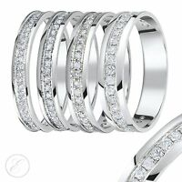 9ct White Gold Diamond Eternity Ring 0.15ct,Quarter Carat,Third Carat,Half Carat