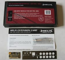 HELIX HEC HD-AUDIO USB-INTERFACE FOR DSP PRO MK2 THE BEST QUALITY, NEW, WARRANTY