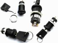 Schlüsselschalter ON-OFF-ON 250V/3A 16mm 1 Stück