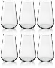 Bormioli Rocco Inalto Uno Water / Juice Tumblers - x6 Glasses - 410ml