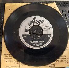 Argo 5268 The Regents  Bamboo Tree/ Isle of Trinidad 45 rpm rare Calypso