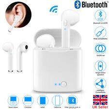 Twins Wireless Bluetooth Earphones Headphones Stereo Earbud Sports Sweatproof UK