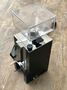 Eureka Mignon Silenzio 50 Espressomühle DELUXE - Schwarz mit Chrom Nase - DEMO