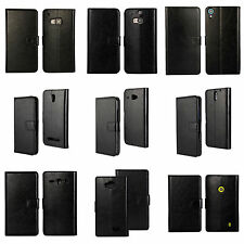 Flipcover Handy Tasche PU Leder Schutzhülle PU Leather Black Case Flipcase NEW