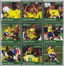 Guinée-bissau 1361-1369 neuf avec gomme originale 2001 Football-WM 2002