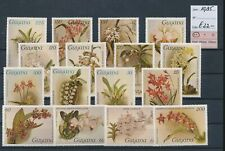 LM41568 Guyana 1985 flowers nature fine lot MNH cv 22 EUR