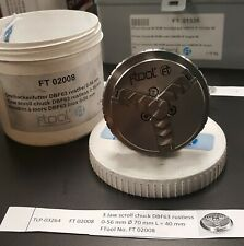 Ftool (a subsidiary of Erowa) Ft02008 3 Jaw Scroll Chuck