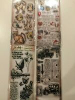 Tim Holtz Stampers Anonymous Clear Stamp Set NEW YOU PICK