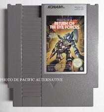 jeu PROBOTECTOR II 2 RETURN OF THE EVIL FORCES pour nintendo NES -PD-FRA konami