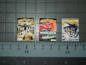 1/10 Scale Lowrider Magazines set #3 - 3 Issues - perfect for RedCat  RC Car