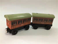 Thomas & Friends Wooden Railway Annie and Clarabel Set New Gifts
