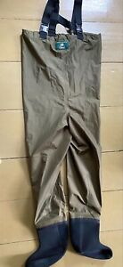 ORVIS STOCKING FOOT CHEST WADERS - SIZE SMALL - UNUSED - Storage Lot of Fishing