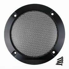 "2x 3""Inch Matt Type Circle Speaker Decorative Circle With Protective Grille DIY"