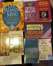 8 Books Crystals Tarot Dreaming Aromatherapy Astrology Wicca Pagan New Age Witch