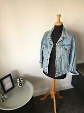 American Apparel Blue Oversized Denim Jacket Size XS Immaculate Condition