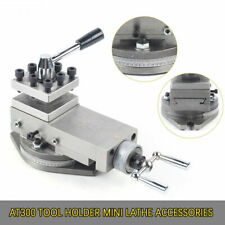 At300 Tool Holder Mini Lathe Accessory Metal Change Metalworking Lathe Assembly