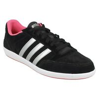 HOOPS VL W ADIDAS NEO LADIES LACE UP ROUND TOE CASUAL EVERYDAY TRAINER SHOES