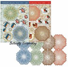 Birds Of Britain Festive Premium Card Making Kit Paper Crafting Hunkydory New