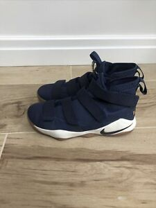 Nike Lebron Soldier 11 Basketball Shoes Size UK9 EUR44•TOP•