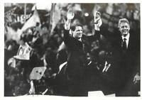 Bill Clinton Al Gore Madison Square Garden 7-16-1992 Print 3.5x5 Political Ad