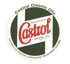 Outdoor Vinyl Sticker  Green  Castrol Classic Bodywork 9†STR599