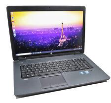 HP ZBook 17 CAD Laptop: Core i7-4800MQ, 16GB RAM, 240GB, Quadro K3100M