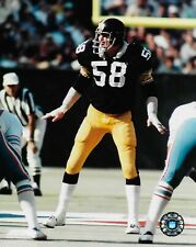 Pittsburgh Steelers #58 Jack Lambert Frontal View 8X10 Photo Picture