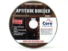 Psychometric Testing: Aptitude Builder - Windows 8 / 7 / Vista / XP / 95/98 PC